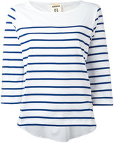 Semi-Couture Semicouture striped longlseeved T-shirt