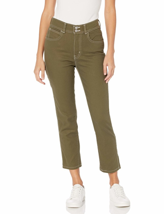 Levi's Women's 724 High Rise Straight Carpenter Crop Jeans