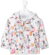 John Galliano printed hooded jacket - kids - Polyester - 12 mth