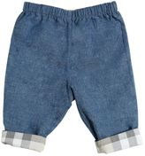 Burberry Reversible Cotton Chambray Pants
