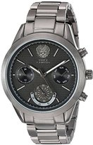 Vince Camuto Women's VC/5243GYGY Multi-Function Dial Light Gunmetal Bracelet Watch