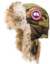 Canada Goose Aviator Coyote Fur Trim Hat