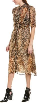 BA&SH Rozy Midi Dress