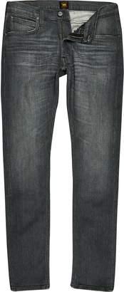 Lee Mens River Island Grey Luke slim fit tapered jeans