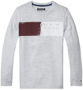 Tommy Hilfiger Th Kids Colorblock Long Sleeve Tee