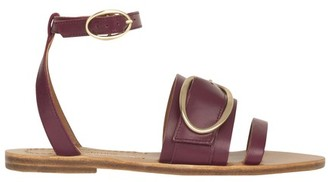 Vanessa Bruno Flat leather sandals