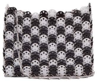 Paco Rabanne Iconic 1969 Chain Shoulder Bag - Womens - Black White