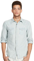 Denim & Supply Ralph Lauren Slim Indigo Cotton Shirt