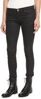 The Great The Skinny Skinny Coated Jeans, Black