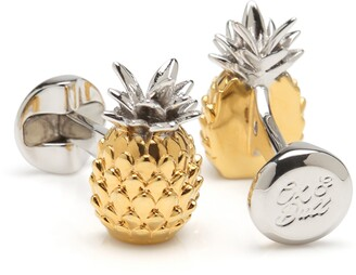 Cufflinks Inc. 3D Pineapple Cuff Links