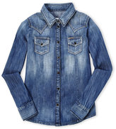 Diesel Girls 4-6x) Two-Pocket Denim Shirt