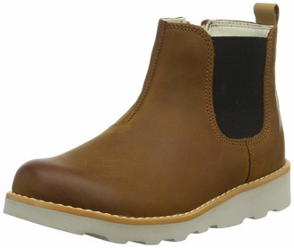 Clarks Crown Halo K Boys Chelsea Boots