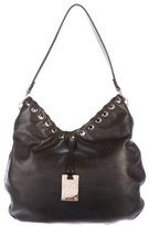 Sergio Rossi Leather Lace Shoulder Bag