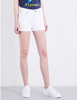 Fiorucci The Patty high-rise denim shorts