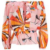 Emilio Pucci Off-The-Shoulder Printed Top