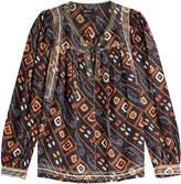 Isabel Marant Tyron Printed Silk Blouse