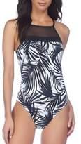 Lauren Ralph Lauren One-Piece Halterneck Swimsuit