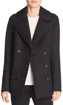 Elie Tahari Whitney Wool Pea Coat