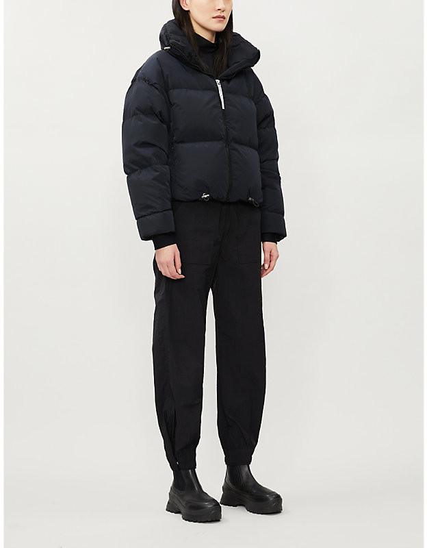 Cordova Mont Blanc cropped shell-down jacket