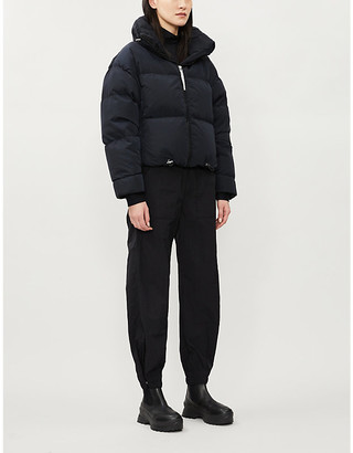 Cordova Mont Blanc cropped shell-down jacket