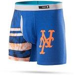 Stance Men's MLB Tie Dye New York Mets Boxer Brief Underwear XL