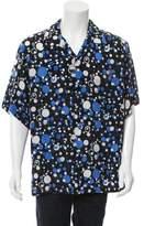Brioni Geometric Print Button-Up Shirt