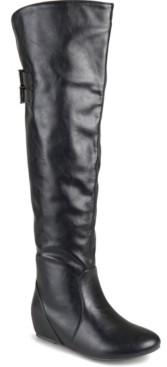 Journee Collection Women's Wide Calf Angel Boot Women's Shoes