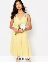 TFNC WEDDING Embellished Shoulder Prom Dress