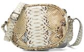 Paquetage New Women's Micro Sac Serpent In Beige