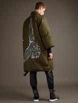 Oamc Khaki Down-Filled Reversible Officer Coat
