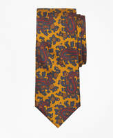 Brooks Brothers Ancient Madder Paisley Print Tie