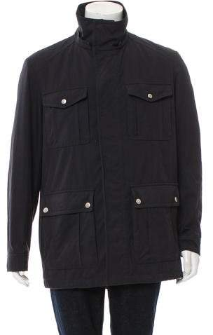 Gucci Twill Utility Jacket