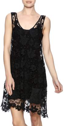 Two Chic Luxe Lace Lined Dress