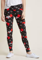 ModCloth Swell on a Holiday Leggings in Playful Pets in L