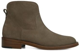 Via Spiga Baxter Suede Ankle Boots