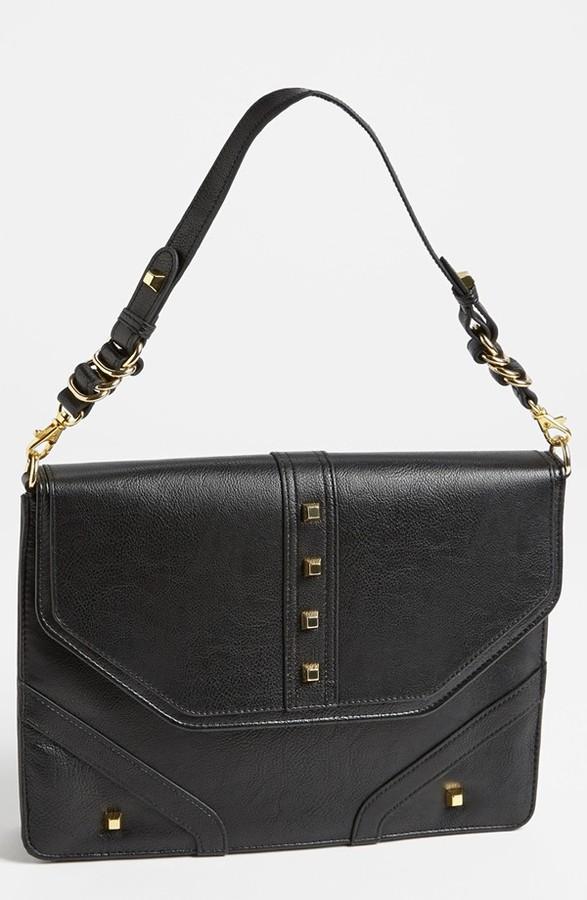 Jessica Simpson 'Melrose Etch' Faux Leather Clutch