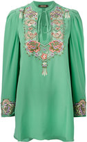 Roberto Cavalli embroidered blouse