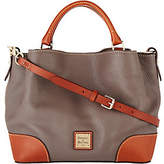 Dooney & Bourke Pebble Leather Small BrennaSatchel