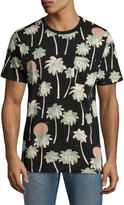 Wesc Maxwell Hawaii Short-Sleeve Tee, Black