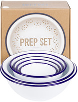Falcon Prep Set - White with Blue Rim