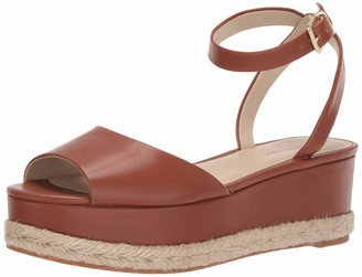 Kenneth Cole New York Women's Lorelei Platform Ankle Strap Espadrille Wedge Sandal