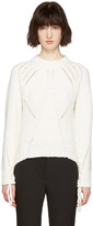 3.1 Phillip Lim White Pointelle Sweater