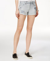 True Religion Kori Ripped Cutoff Boyfriend Shorts
