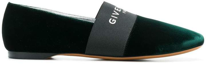 Givenchy Bedford flat logo slippers