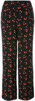 Chinti and Parker Cherry trousers - women - Silk/Elastodiene - 6