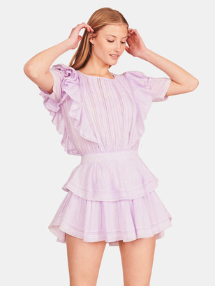 LoveShackFancy Natasha Mini Dress