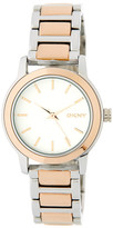 DKNY Women&s Tompkins Mirror Finish Bracelet Watch