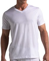 Neiman Marcus V-Neck Tee, Set of Three