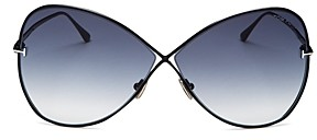 Tom Ford Women's Butterfly Sunglasses, 66mm
