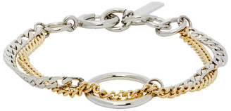 Justine Clenquet Gold and Silver Bicolor Jane Bracelet